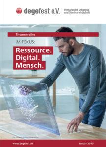 degefest Themenreihe Ressource. Digital. Mensch.